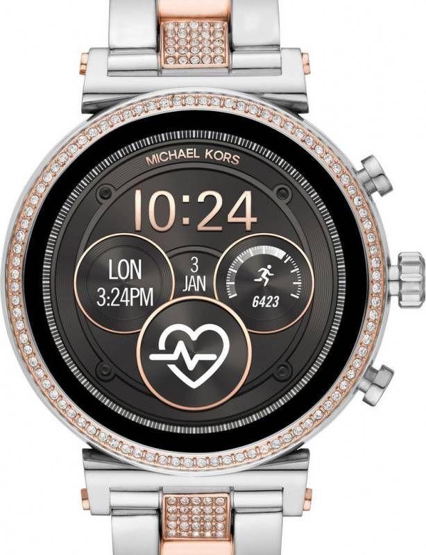 Michael Kors Smartwatch Access Sofie MKT5066 rosegoudkleurig