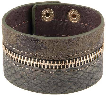 Simon Carter Zwarte armband met kralen en bedeltjes van