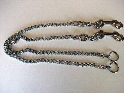 Set van 2 kettingen met wartel en musketonhaak, 60 cm. online kopen